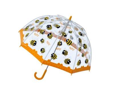 Bugzz doorzichtige paraplu Bij